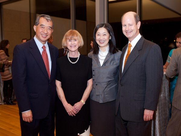 News_Asia Society preview party_January 2012_Albert Chao_Nancy C. Allen_Anne Chao_Eddie Allen