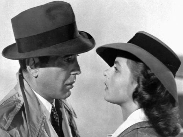 Casa Blanca, Humphrey Bogart, Ingrid Bergman