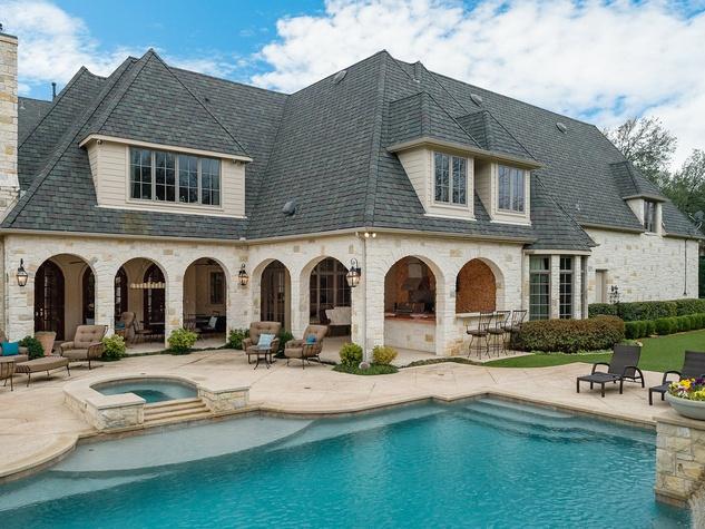 Pool at 10453 Epping Lane in Dallas