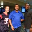 Houston, Boys and Girls Harbor Fantasy Football Draft Night, Josh Cummings, Ray Holloway, Ken Sellers
