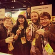 brewers from Namaste Brewing celebrate gold medal win at Great American Beer Festival