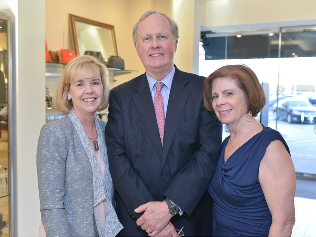 Christie Carter, Terry Conner, Anne Conner, can do luncheon kickoff at tootsies