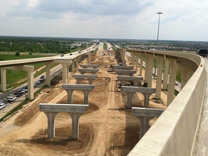 Grand Parkway, construction, highway
