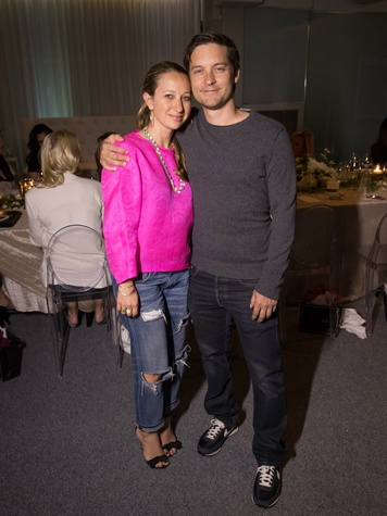 Jennifer Meyer, Tobey Maguire, Private Joule Dinner Party