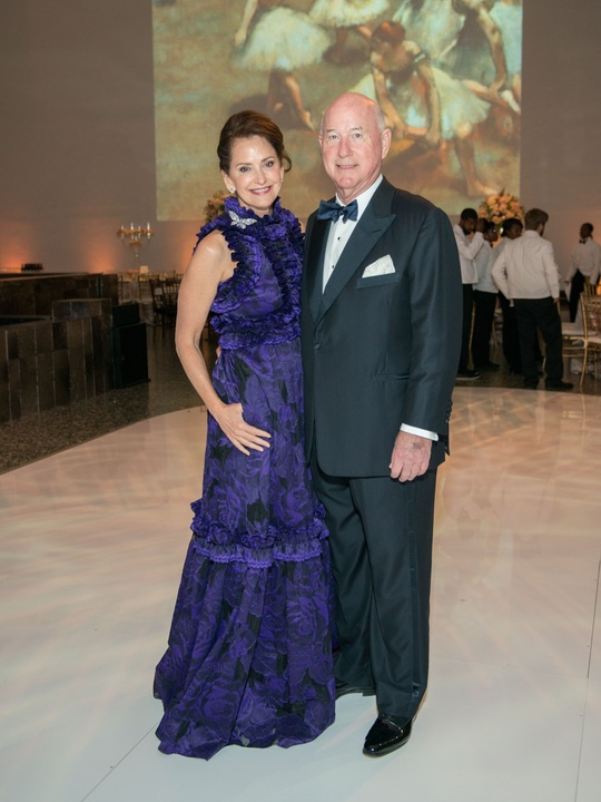 Laurie Morian, Reid Morian at Museum of Fine Arts Houston Grand Gala Ball