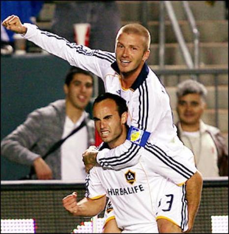 Landon Donovan & David Beckham