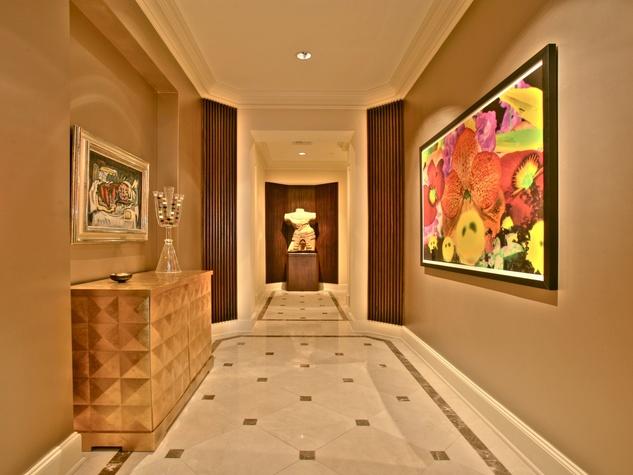 Hallway at 2525 N. Pearl #1102B