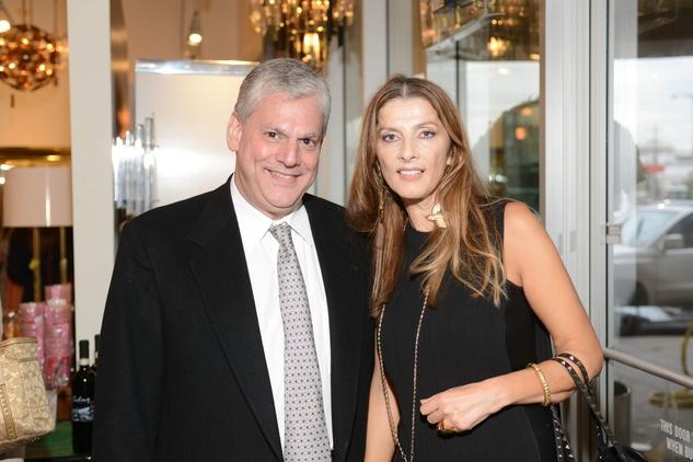 4 Anthony Roger and Vesna Jolic at the Houston Antique + Art + Design Show September 2014