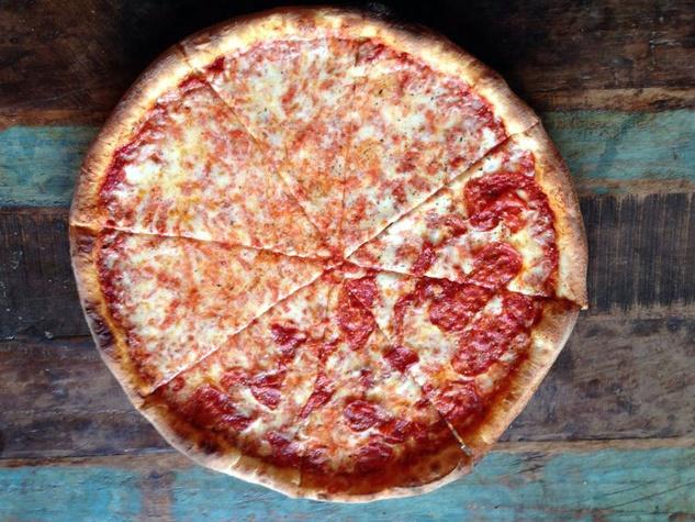 Slice from Zoli's NY Pizza Tavern in Dallas