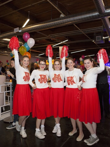 Elizabeth Hudson, Blair Lindsey, Ellen Lindsey, Kathlyn Lehner, Leigh Deweese, Birthday Party Project Turns Three