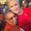 Cecile Richards at abortion rally in Texas
