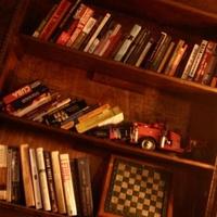 Firehouse Lounge & Hostel Bookcase
