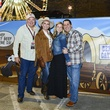 11 Roy and Aimee Marsh, from left, and Jenny and Yonny Demeris at the Houston Rodeo barbecue cook-off February 2014