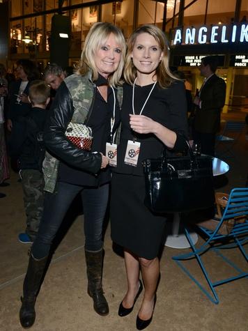 LuAnn Hicks, Heather Sarber, Stars & Stripes Film Festival