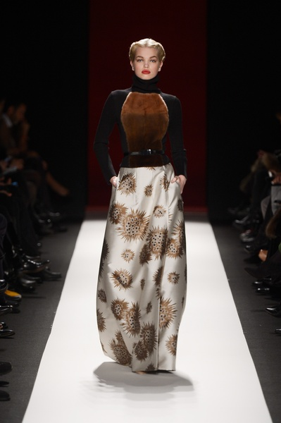 Carolina Herrera, Mercedes-Benz Fashion Week, February 2013