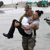 Houston, Hurricane Harvey, first responders, August 2017, Houston SWAT Daryl Hudeck