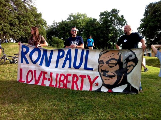 Austin Photo Set: News_Adam_Ron Paul at UT_april 2012_3