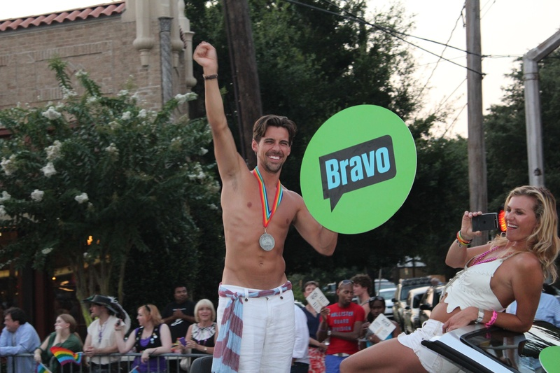 Gay Pride Parade, Grand Marshall,  Madison Hildebrand, June 2012