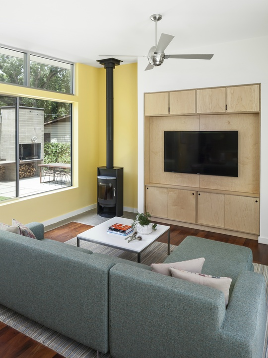 AIA Austin Homes Tour 2015 KRDB LLC living