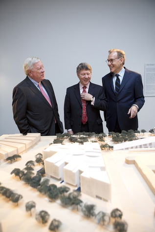 News, Shelby, Museum of Fine Arts donor dinner, Rich Kinder, Ed Emmett, Jan. 2015