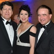 Mike Loya, from left, Dr. Laura Murillo and George Y. Gonzalez at the Hispanic Chamber of Commerce Gala November 2014