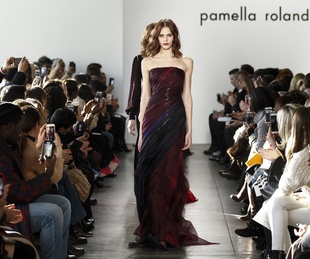 Pamella Roland fall 2017 look 35