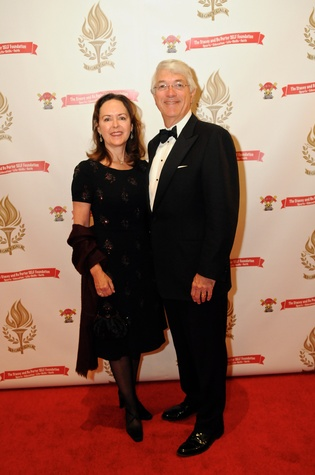 Karen and Scott Rozzell at the Legacy Gala December 2014