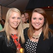 Emilie Bell, left, and Sara Smelser at the Butler Brothers party November 2014