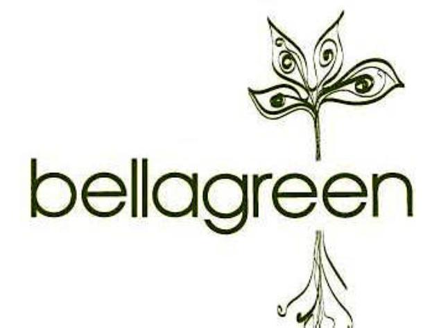 Houston, Bellagreen restaurant logo, August 2017