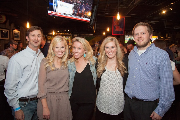2541 Bill Cornelius, from left, Amy Sarazen, Whitney Wright, Gretchen Bieber and Cotton Clark at the Friends of DePelchin Fall Carnival at Jackson's Watering Hole