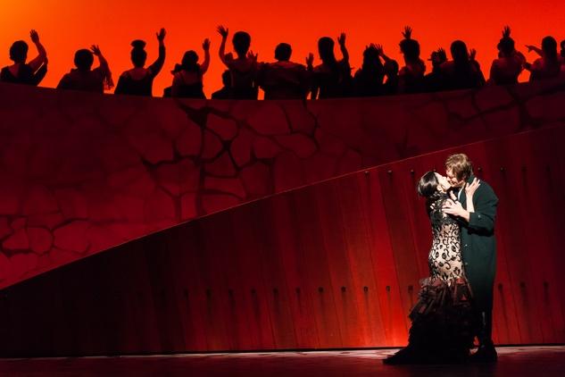 Houston Grand Opera Carmen Ana María Martínez as Carmen, Brandon Jovanovich as Don José  April 2014