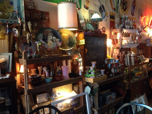 Antiques, Art and Beer from Shiner, Texas