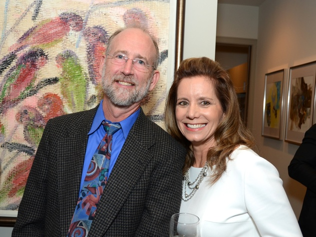 6 Houston Ballet Ambassadors event September 2013 Ken Hyde, Mary Alice Parmet