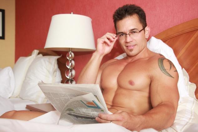 Justin Whitfield, male stripper, Take It Off