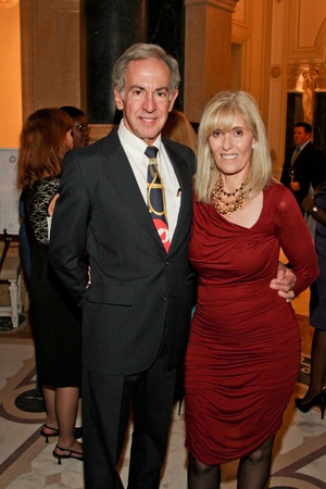 AVDA gala, October 2012, Larry Likover, Bonnie Likover