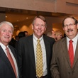 Mike Weill, from left, Tom Moyers and Bill McHolick at the Medical Bridges Gala September 2014