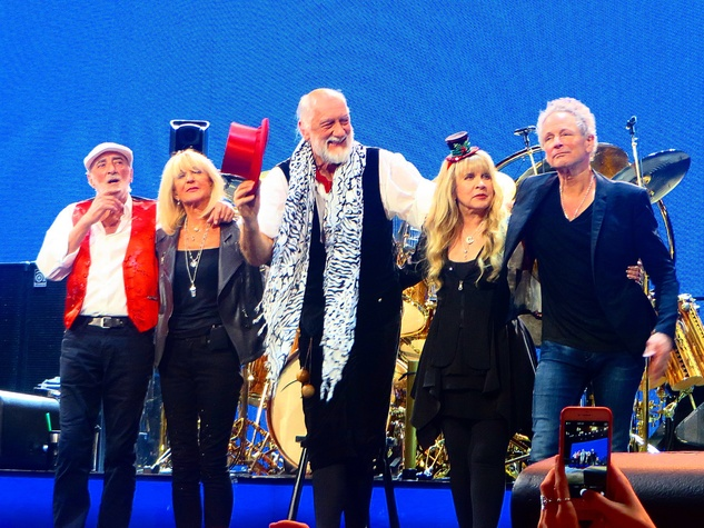 Jane Howze Fleetwood Mac December 2014 John McVie, from left, Christine McVie, Mick Fleetwood, Stevie Nicks and Lindsay Buckingham
