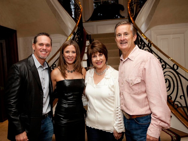 157 Craig and Patty Biggio, from left, and Mary and Tony Gracely at Texas Children's event November 2013