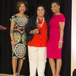 Houston, Kick Out Kidney Disease Luncheon, May 2015, Merele Yarborough, Erlinda Quintanilla, Shawntell McWilliams