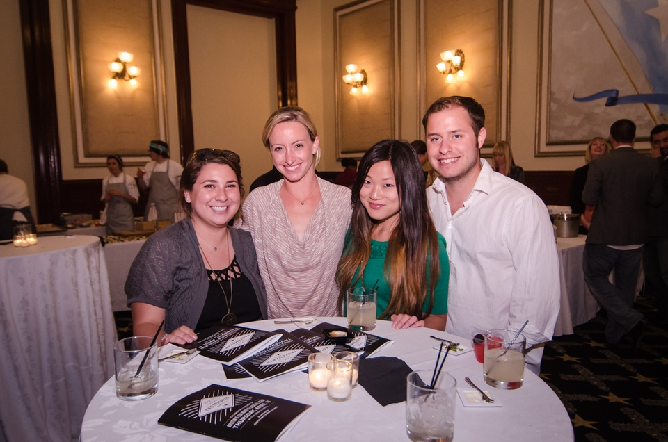 Kelsey Kidd, Laura Powell, Ally Warren and Alex Taylor