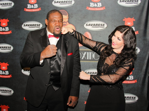 Houston, Black Tie Boxing Benefiting Lone Survivor Foundation, Feb 2017, Riddick Bowe, Ella Markovsky