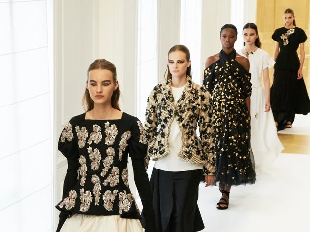 Dior haute couture runway show Paris finale