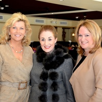 2 Susan Plank, from left, Martha Turner and Kiki Wilson at the Dec My Room luncheon October 2014