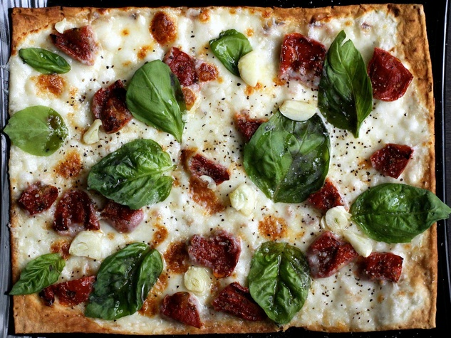 Bar Boheme, Roasted Tomato Margherita, pizza