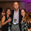 6 Linda and Bob Ittner, from left, with Brenda Buchanan at The Periwinkle Foundation's Iron Sommelier October 2014