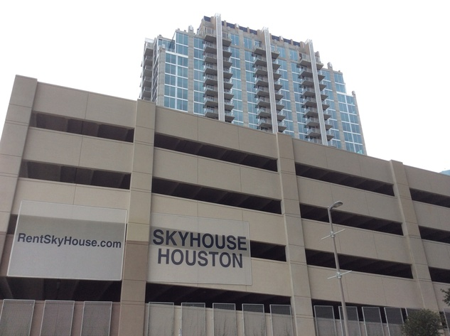Skyhouse Houston, a 24-story apartment building in downtown, opened this summer. September 2014