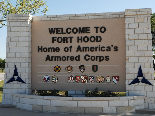 Fort Hood in Killeen, Texas
