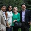 Dr. Vivek Subbiah, Dr. Ishwaria Subbiah, Katie Hwu, Dr. Patrick Hwu at Hines MD Anderson Aspen