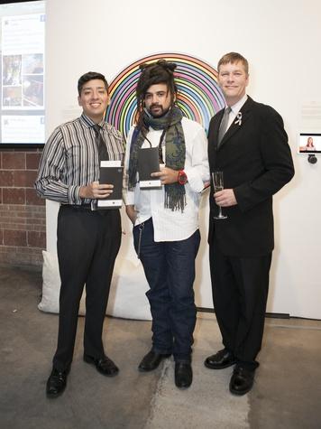 Michael perez, Ricardo paniagua, Douglas Martin, art for advocacy