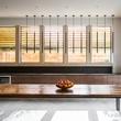 Carol Isaak Barden House of Many Gardens 3320 University July 2014 kitchen windows